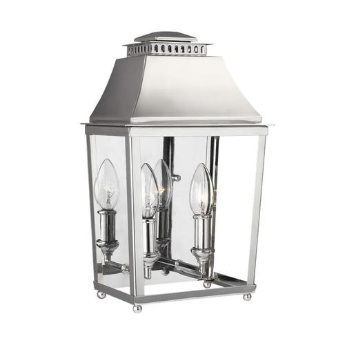 Galloway 2 - Light Wall Sconce Polished Nickel