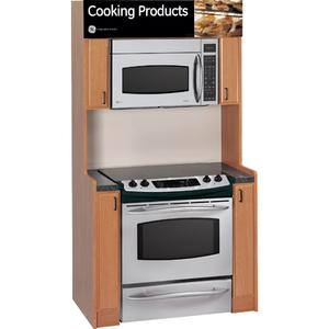 GE Profile Spacemaker® XL1800 Microwave Oven with Recirculating Venting