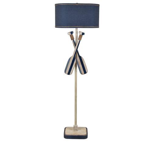 Crestview Collections - Boat Oar Floor Lamp