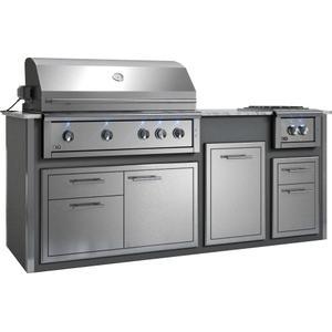 "Xo AppliancesAppliance Ready Pre-Assembled 42"" Designer Island Gray"
