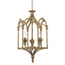 Medici 3-Light Pendant,Burnished Chestnut