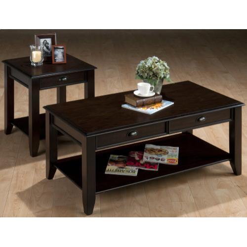 Jofran - Bartley Oak End Table