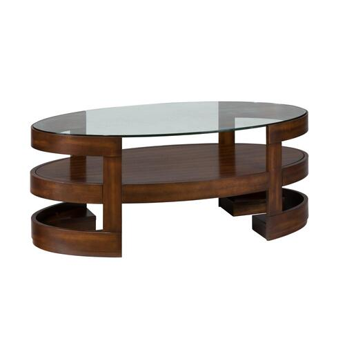Avon Oval Cocktail Table
