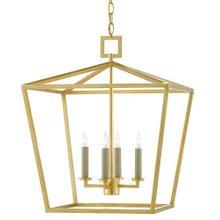 View Product - Denison Gold Medium Lantern