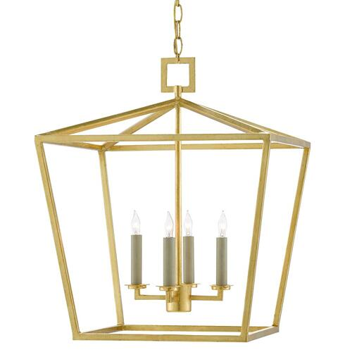 Denison Gold Medium Lantern