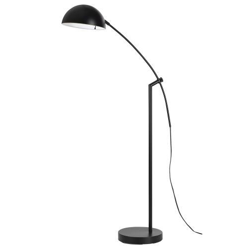 60W Pinehurst Metal Arc Floor Lamp With Metal Shade