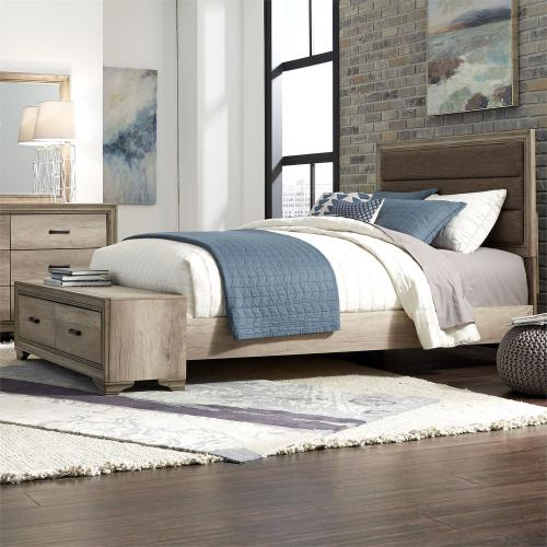 King California Storage Bed