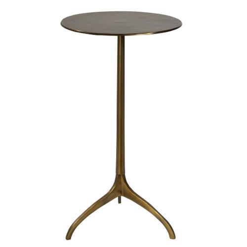 Beacon Accent Table, Gold
