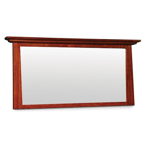 See Details - McCoy Bureau Mirror, 67 'w x 27'h