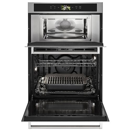 "Smart Oven+ 30"" Combination Oven with Powered Attachments - Stainless Steel"