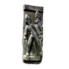 Old Nagaland Carved Figure