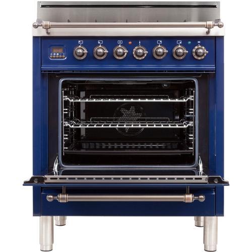 30 Inch Blue Liquid Propane Freestanding Range