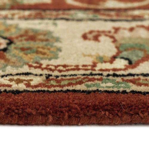 """Eloquent Garden Arabian Red - Rectangle - 2'6"""" x 3'6"""""""
