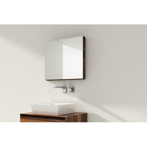 """Mirrored cabinet Recessed - 19"""" Height"""