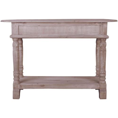 Console Table - Natural Lime Wash