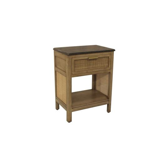 Palos Park 1 Drawer Side Table