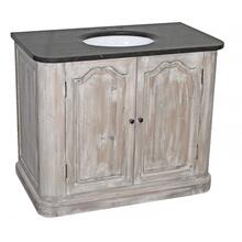 Distressed White Reclaimed 2-Door Vanity