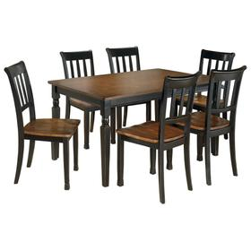 Owingsville Dining Table and 6 Chairs