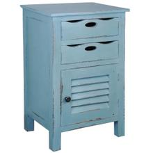 See Details - Cottage Accent Table - Beach Blue