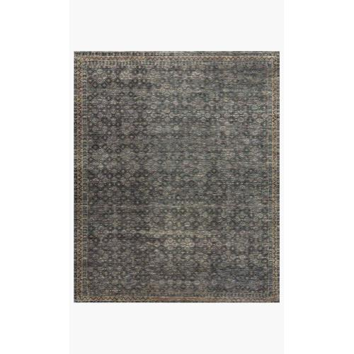 AMM-01 Ink / Turquoise Rug