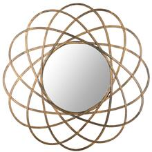 Galaxy Wall Mirror - Antique Gold