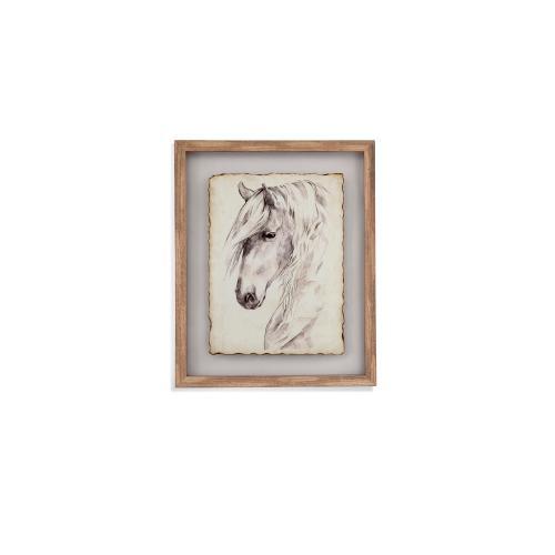 Bassett Mirror Company - Horse Portrait Sketch II