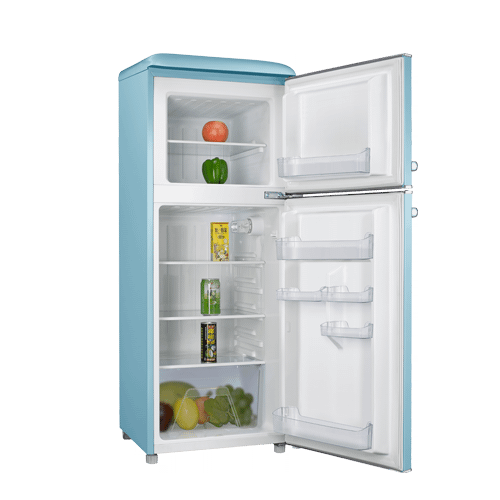 Galanz 4.6 Cu Ft Retro Top Mount Refrigerator in Bebop Blue