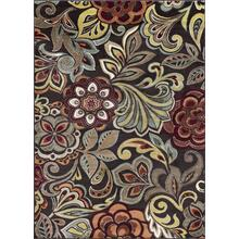 Deco - DCO1024 Brown Rug (Multiple sized available)