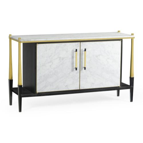 Fusion Sideboard with White Marble Top