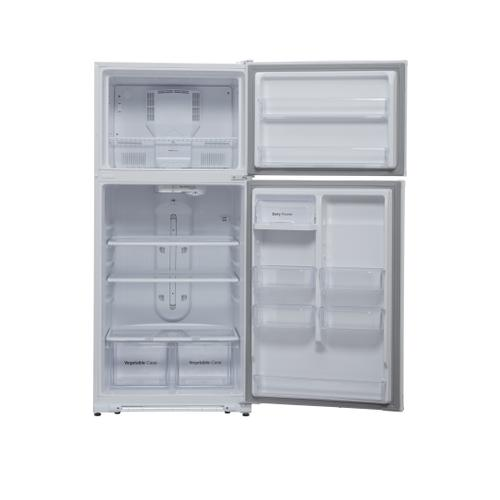 WINIA 18.2 Cu Ft - Garage Ready - 2 Door Top Freezer Refrigerator- White