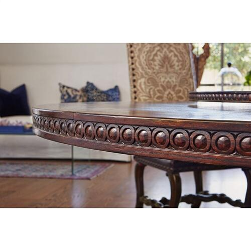 Castilian Round Dining Table - 86""