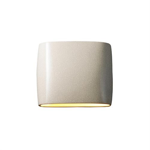 Wide ADA Oval Wall Sconce (Outdoor) - Closed Top