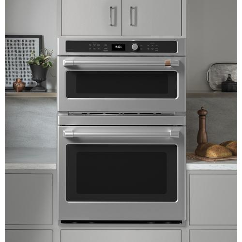 Café 30 in. Combination Double Wall Oven with Convection and Advantium® Technology