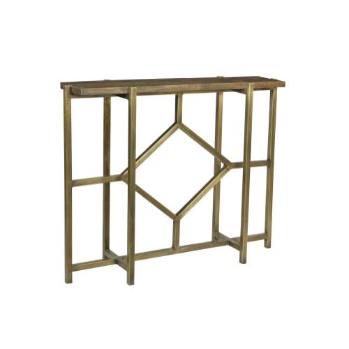 Crestview Collections - Bengal Manor Iron Diamond Console