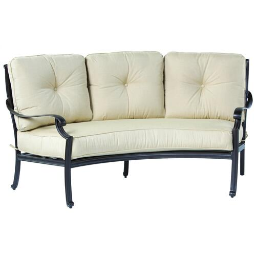 Parioli Deep Seating Crescent Sofa