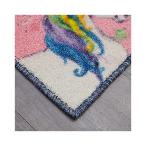 Mohawk - Unicorn Wish, Pink- Rectangle