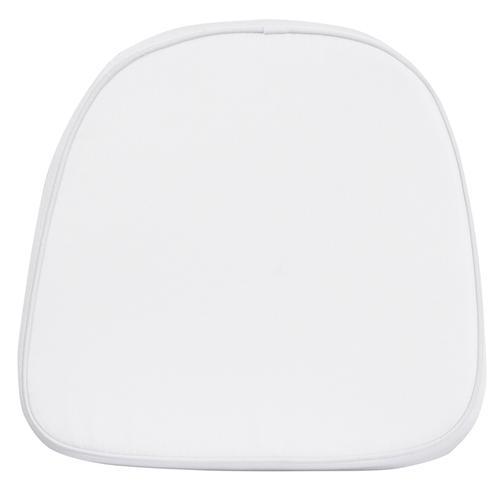 Flash Furniture - Kids Soft White Fabric Chiavari Chair Cushion
