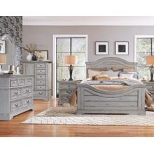 Stonebrook - King 4 Pc. Bedroom (Headboard, Footboard & Rails, Dresser, Mirror)