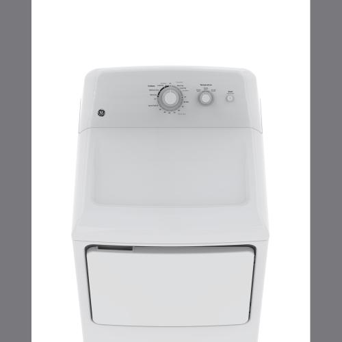 GE 6.2 Cu.Ft. Top Load Electric Dryer White GTX22EBMKWW