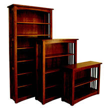 View Product - Bungalow Mission Bookcase