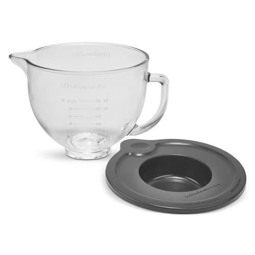 KitchenAid Canada - 5 Quart Tilt-Head Glass Bowl with Measurement Markings & Lid - Other