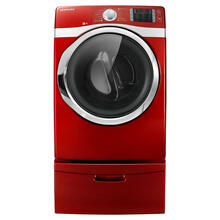 7.5 cu. ft. Capacity Gas Steam Dryer (Tango Red)
