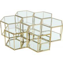 "Sei Modular 7 Piece Coffee Table - 60"" W x 58"" D x 16.5"" H"