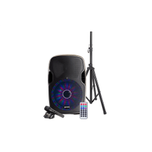 "12"" Multi-LED Bluetooth Speaker Package"
