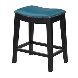 "Briar 24"" Bar Stool Teal"