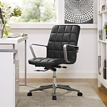 Tile Office Chair in Black