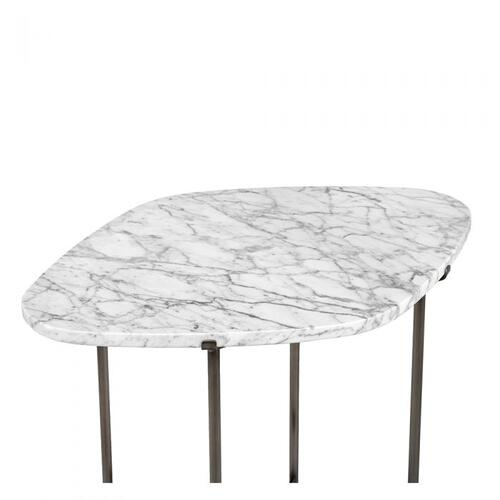Arlington Side Table - Carrara