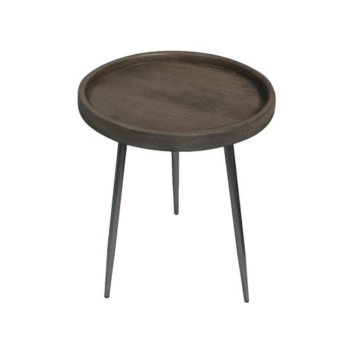 Crestview Collections - Brooks Tray Top Grey Accent Table