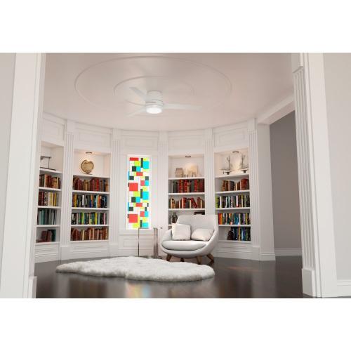 Commodus with LED Light 54 inch - Fresh White - Fresh White