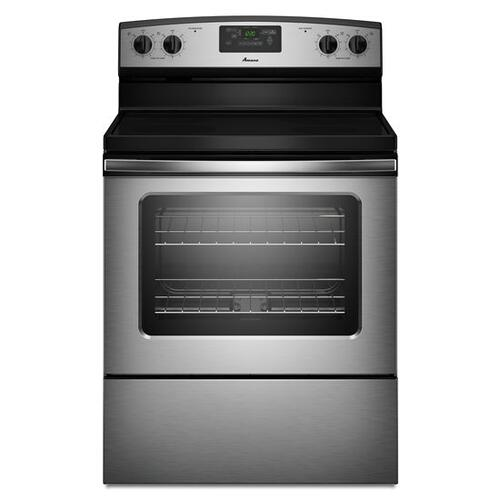 Gallery - Amana® 30-inch Amana® Electric Range with Versatile Cooktop - Stainless Steel